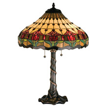 Wonderful Meyda 99270 Tiffany Tulip Table Lamp