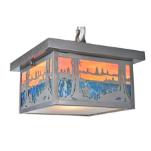 Meyda 99461 Hyde Park Quiet Pond Flush Mount Ceiling Fixture