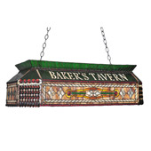 Tiffany Personalized Baker's Tavern Island Light - Meyda 104942