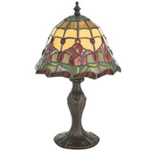 Tiffany Colonial Tulip Accent Lamp - Meyda 112093