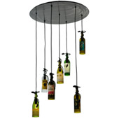 Tuscan Vineyard Personalized Multi-Pendant Fixture - Meyda 133794