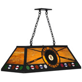 Personalized Drip Drop Tavern Billiards Light - Meyda 140891