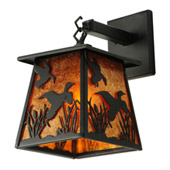 Rustic Ducks In Flight Wall Sconce - Meyda 142024