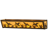 Rustic Ducks In Flight Vanity Light - Meyda 145714