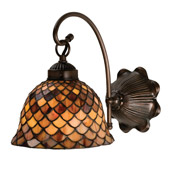 Tiffany Fishscale Wall Sconce - Meyda 18631