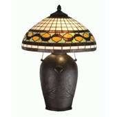 Tiffany Acorn Table Lamp - Meyda Tiffany 19169