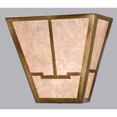 Craftsman/Mission Bungalow Valley View Wall Sconce - Meyda 23904