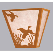 Rustic Ducks In Flight Wall Sconce - Meyda 23924