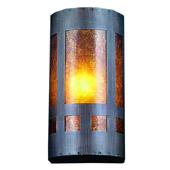 Craftsman/Mission Van Erp Wall Sconce - Meyda 23956