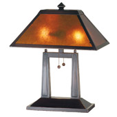 Craftsman/Mission Van Erp Table Lamp - Meyda 24216