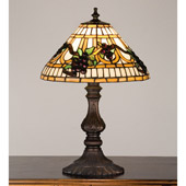Tiffany Grapes Accent Table Lamp - Meyda Tiffany 26990