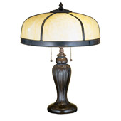Craftsman/Mission Arts & Crafts Dome Table Lamp - Meyda 31278