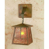 Craftsman/Mission Bungalow Valley View Hanging Wall Sconce - Meyda 47748