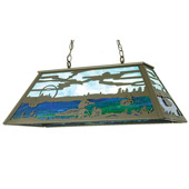 Rustic Loon Island Light - Meyda 50666