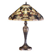 Tiffany Jeweled Grape Table Lamp - Meyda 52129