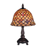 Tiffany Fishscale Mini Accent Lamp - Meyda Tiffany 67378