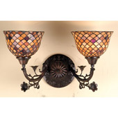Tiffany Fishscale Wall Sconce - Meyda Tiffany 67383