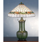 Craftsman/Mission Bungalow Pine Cone Table Lamp - Meyda 71437