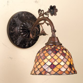 Tiffany Fishscale Wall Sconce - Meyda Tiffany 74044