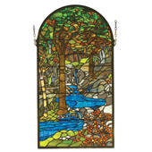 Tiffany Waterbrooks Stained Glass Window - Meyda 98255