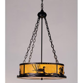 Rustic Loon Inverted Pendant - Meyda 98796