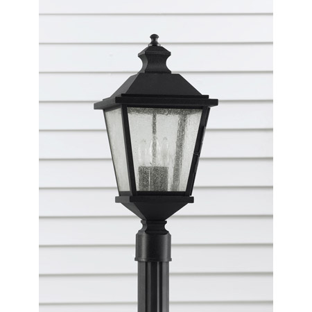 Murray Feiss Ol5707bk Woodside Hills Outdoor Post Lantern
