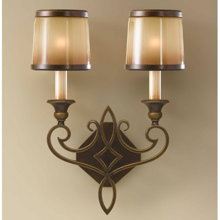 Wall Sconces Murray Feiss : Murray Feiss WB1473ASTB Justine Wall Sconce