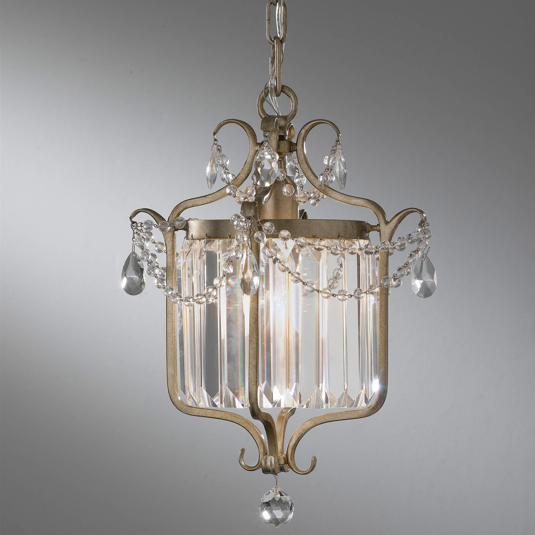 James Moder Crystal Chandelier