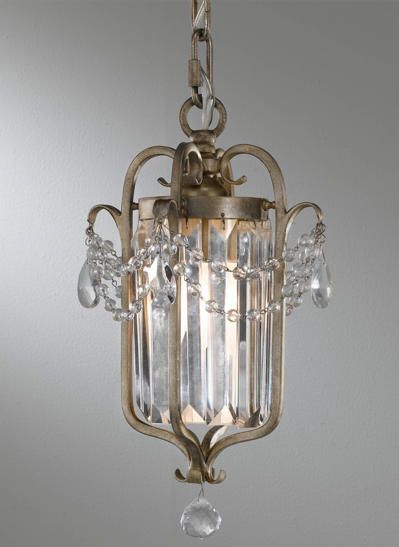 Murray Feiss F2474 1gs Crystal Gianna Mini Chandelier