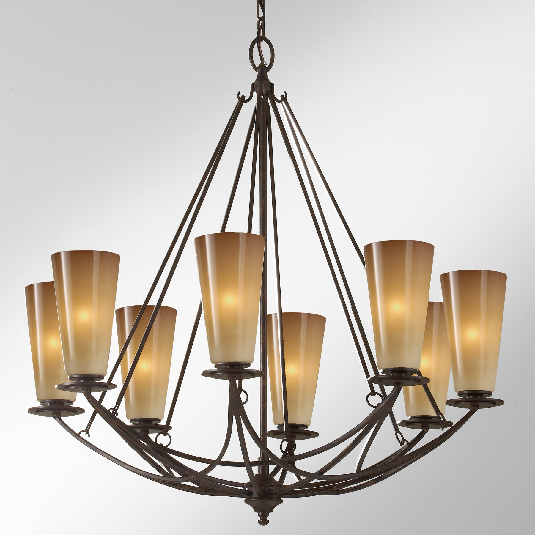 Murray Feiss F2606 8mbz El Nido Eight Light Chandelier
