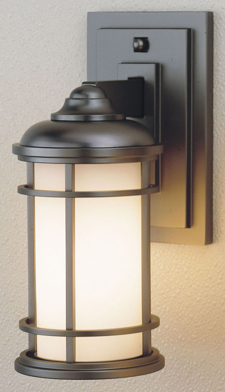 Murray Feiss Ol2200bb Lighthouse Outdoor Wall Mount Lantern