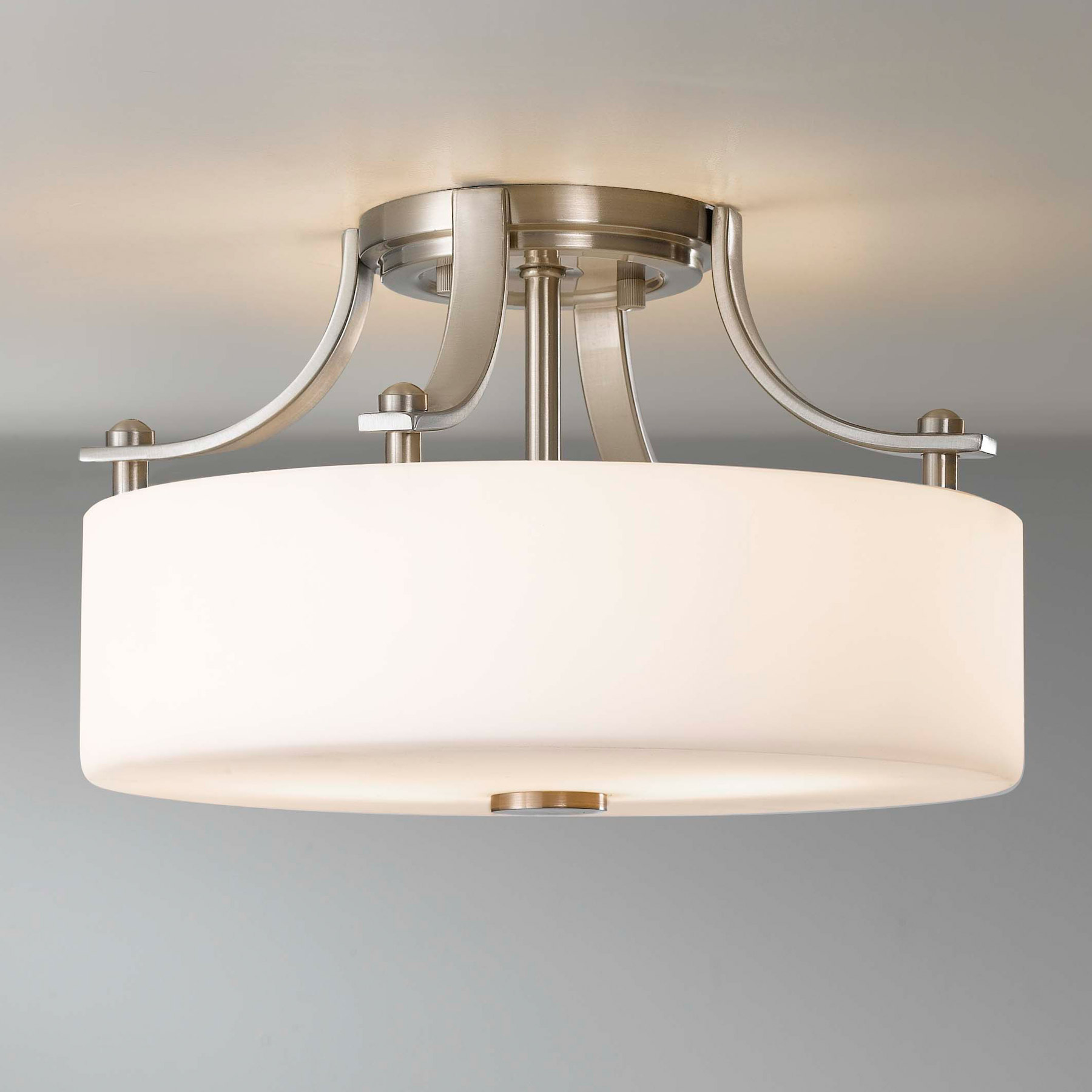 Flush mount ceiling light fixtures for both indoors and for A lamp and fixture