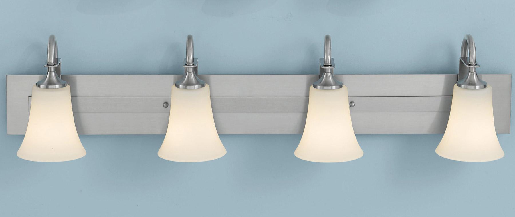 wall lighting bathroom vanity lights murray feiss vs12704 bs. Black Bedroom Furniture Sets. Home Design Ideas