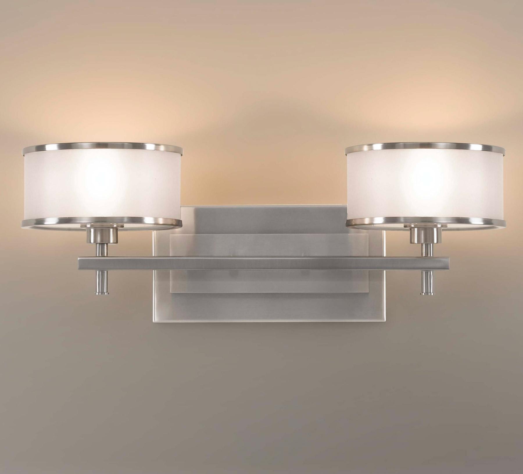 wall lighting bathroom vanity lights murray feiss vs13702 bs. Black Bedroom Furniture Sets. Home Design Ideas