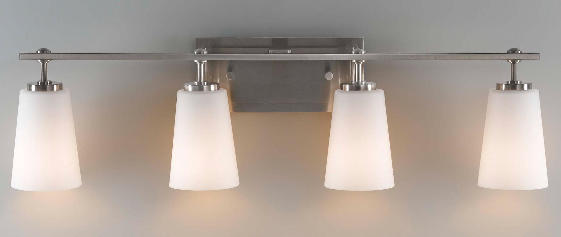 wall lighting bathroom vanity lights murray feiss vs14904 bs. Black Bedroom Furniture Sets. Home Design Ideas