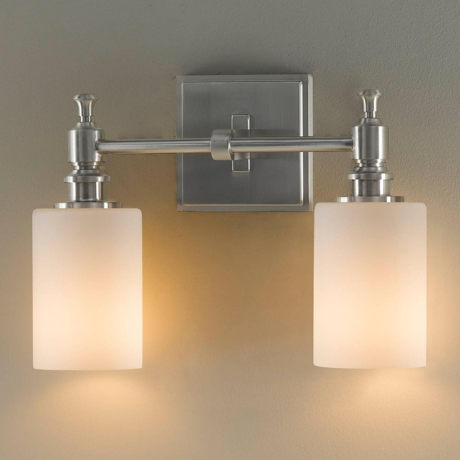 Murray Feiss Bathroom Lighting: Murray Feiss VS16102-BS Sullivan ADA Compliant Vanity Light