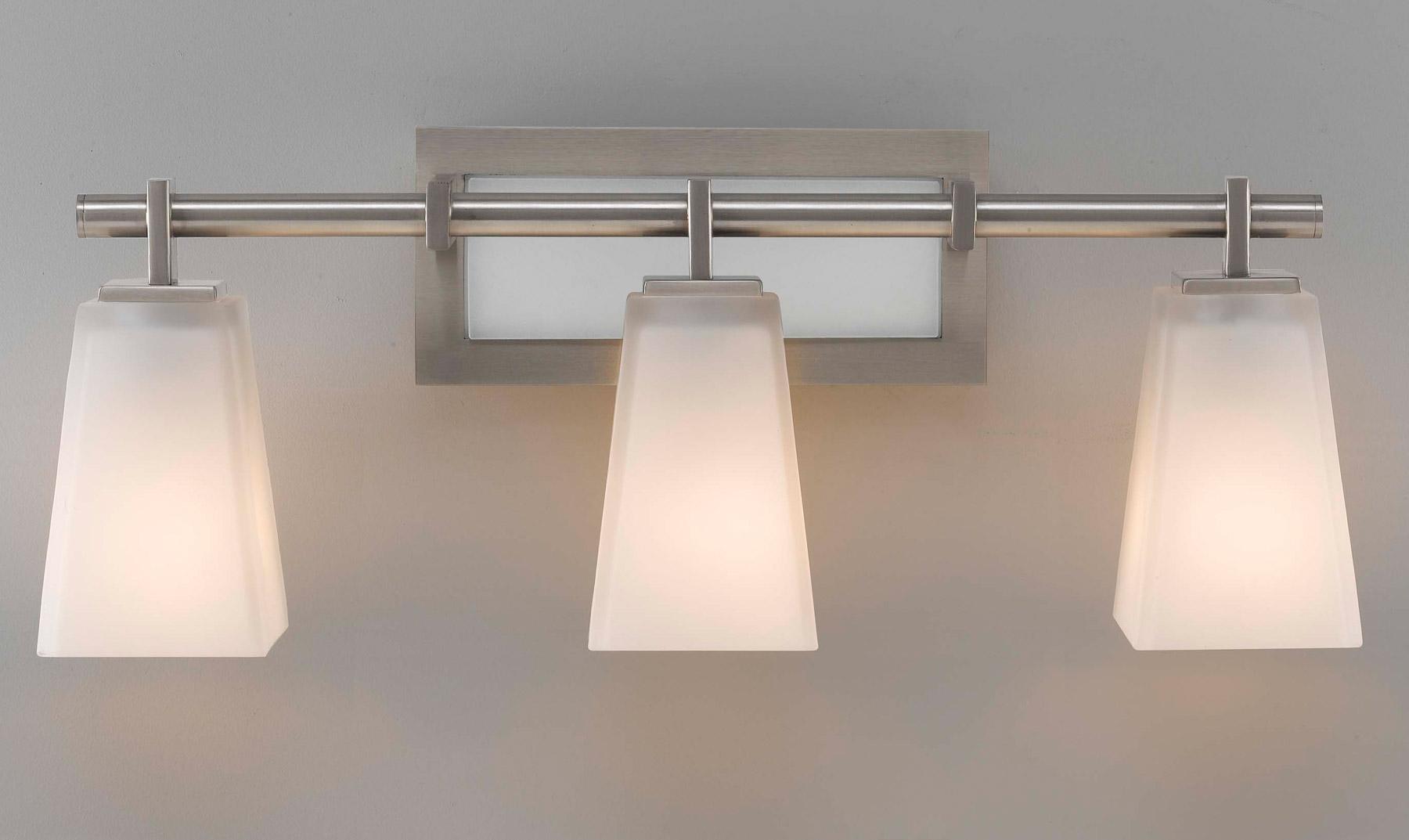 wall lighting bathroom vanity lights murray feiss vs16603 bs. Black Bedroom Furniture Sets. Home Design Ideas