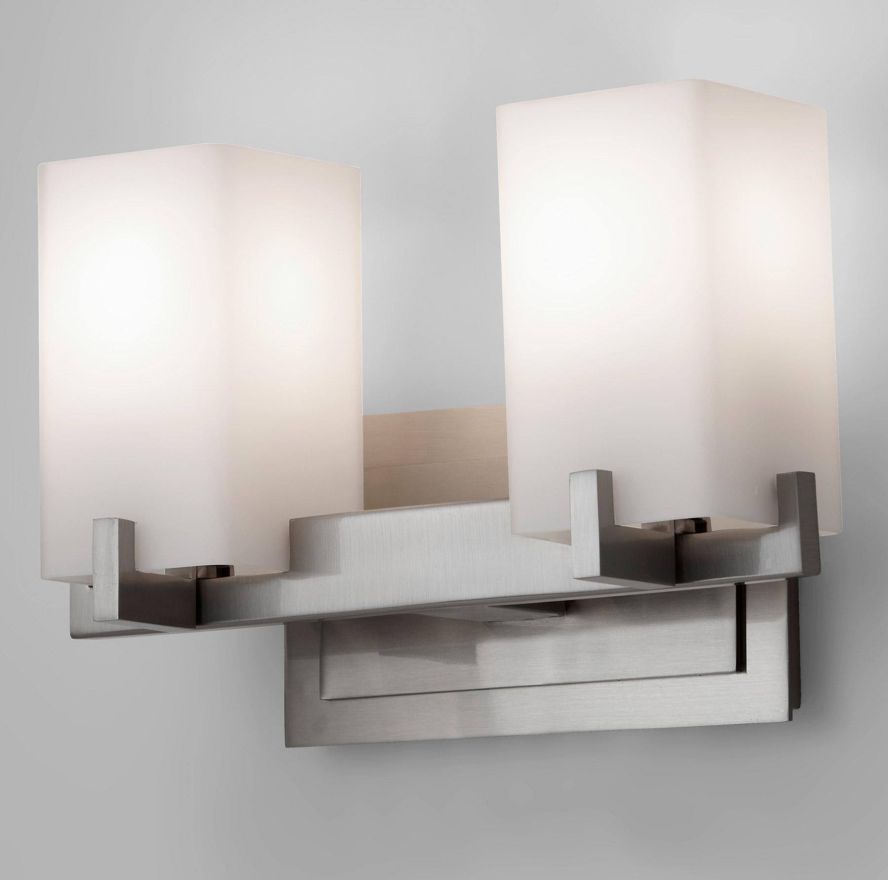 Murray feiss vs18402 bs riva vanity light for Murray feiss bathroom lighting fixtures