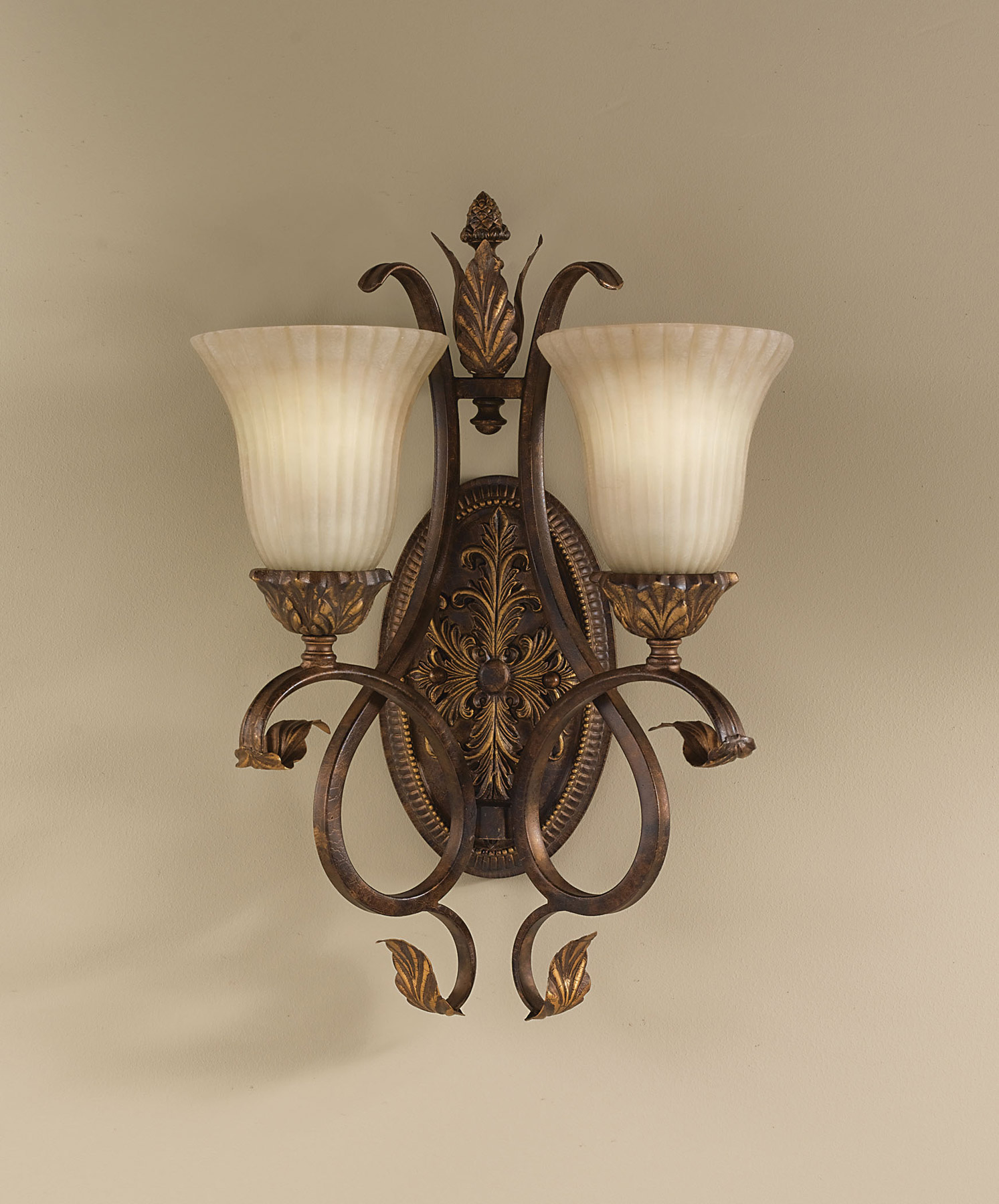 Murray Feiss Wall Sconces: Murray Feiss WB1281ATS Sonoma Valley Wall Sconce
