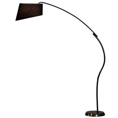 home lamps floor lamps arc floor lamps nova lighting 11717. Black Bedroom Furniture Sets. Home Design Ideas