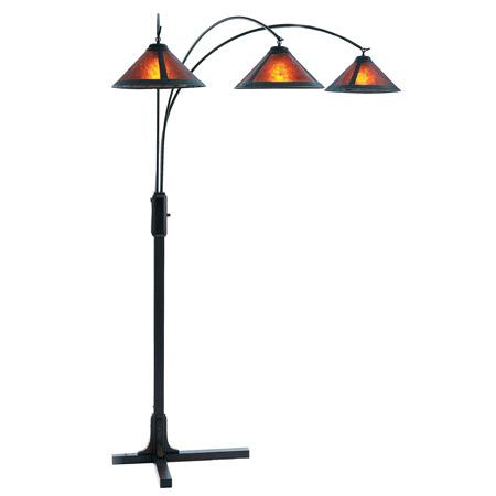 Nova Lighting 4212bz Mica 3 Light Arc Floor Lamp