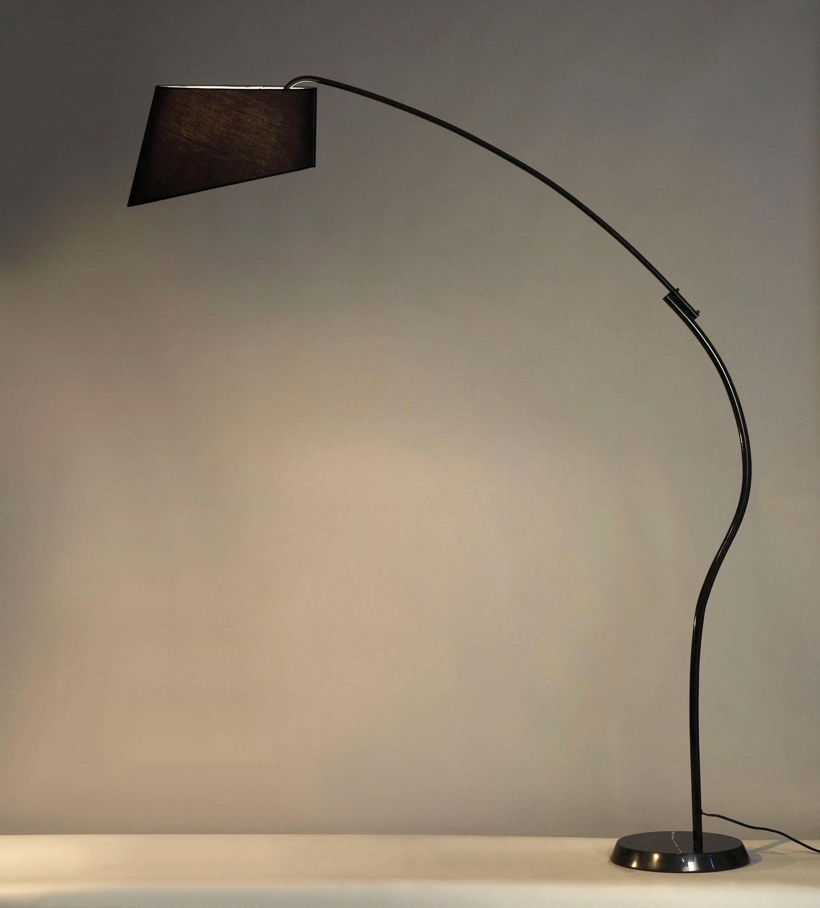 Lighting 11717 ibis black arc floor lamp nova lighting 11717 ibis black arc floor lamp mozeypictures Gallery