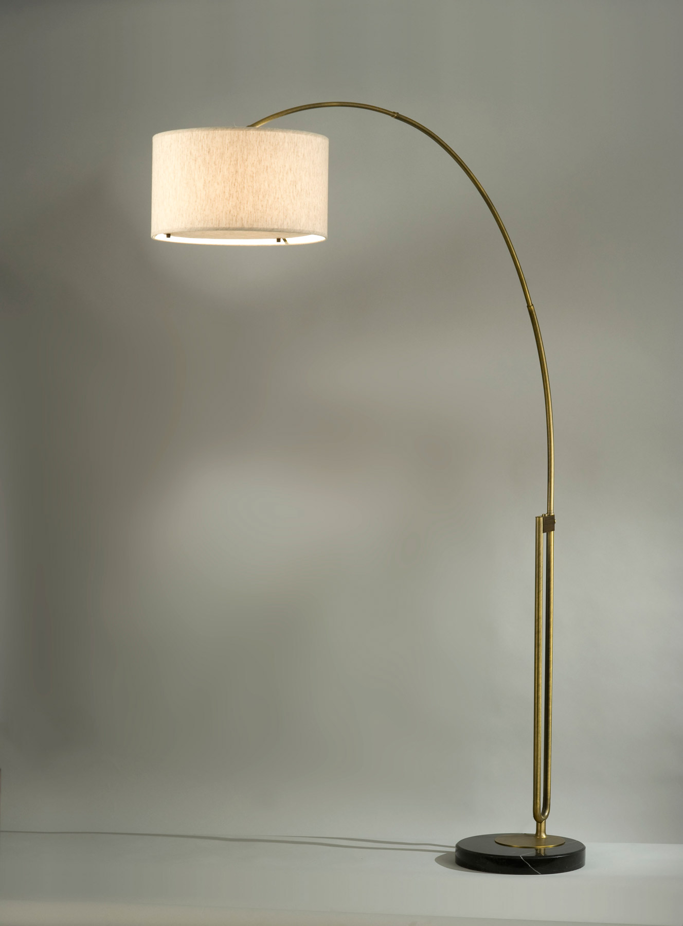 Ikea Küchen Eckunterschrank ~   Floor Lamp Brushed and Arc Floor Lamp under Living Room With Floor