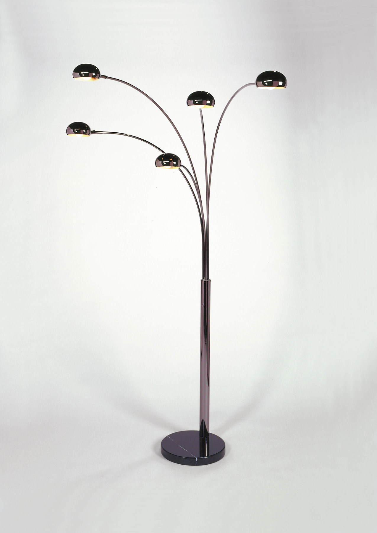 Nova Lighting 4035 Mushroom 5 Light Arc Floor Lamp