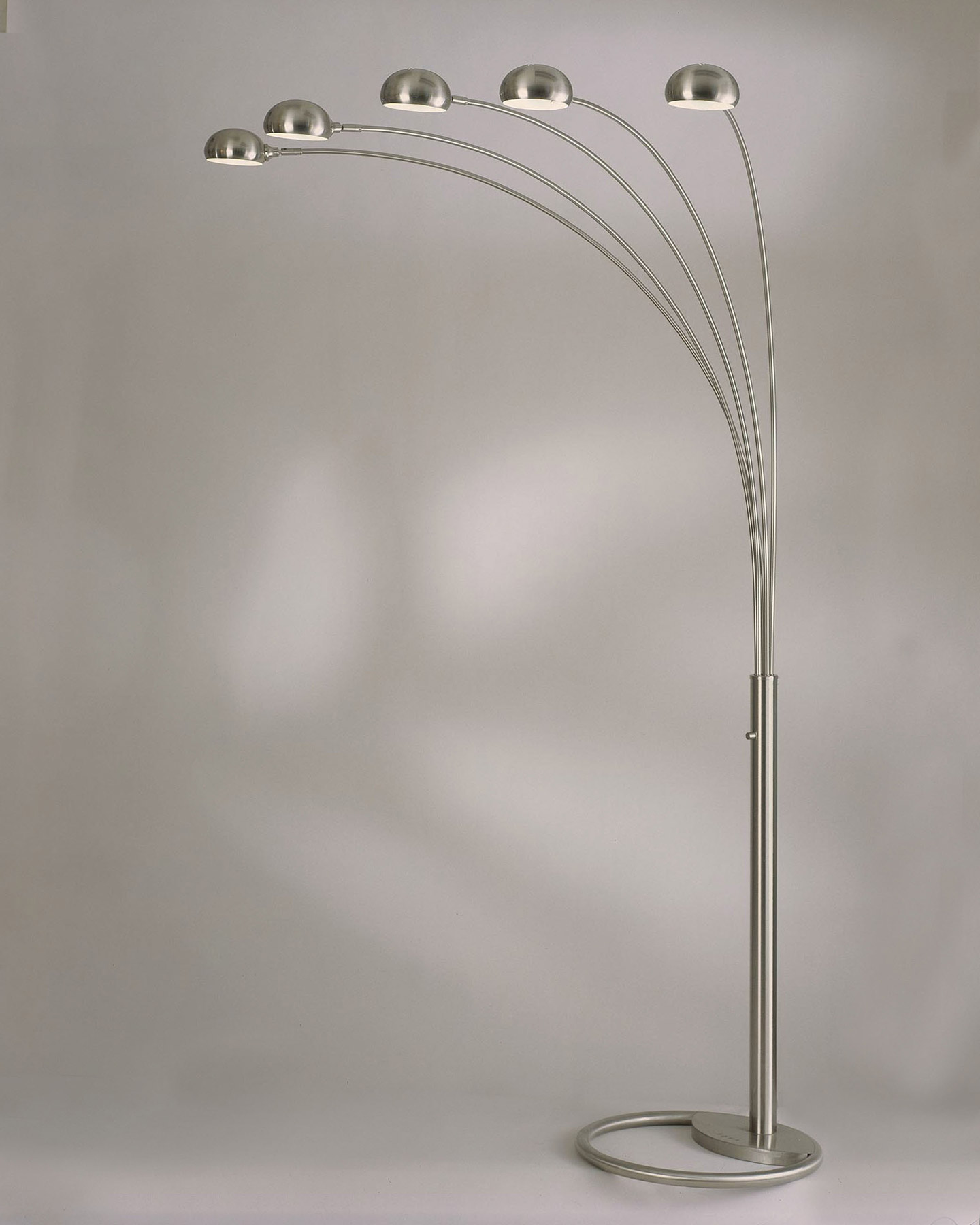 nova lighting 4231rx mushroom 5 light arc floor lamp - Arc Floor Lamps