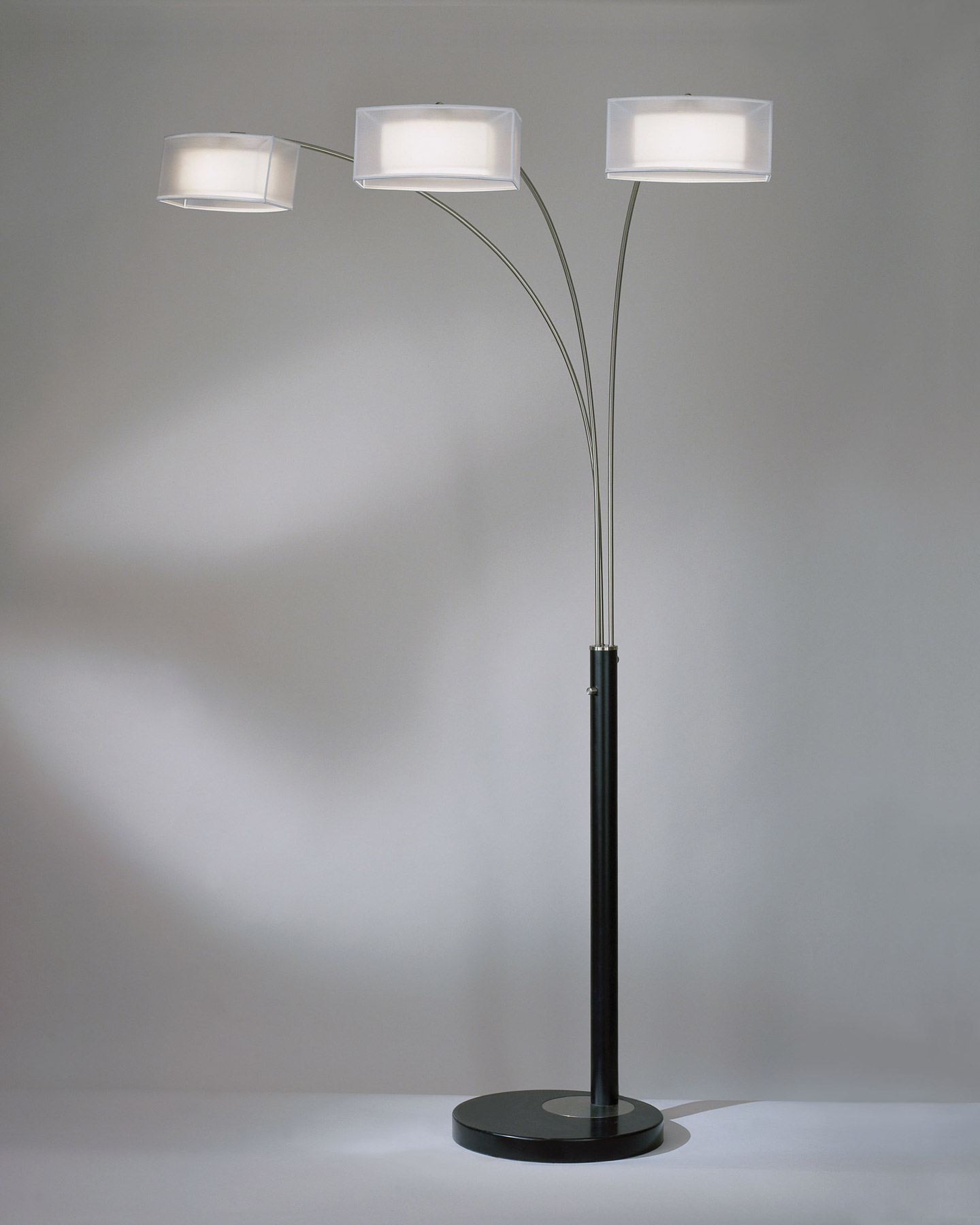 Nova Lighting 4349 Amarillo 3 Light Arc Floor Lamp