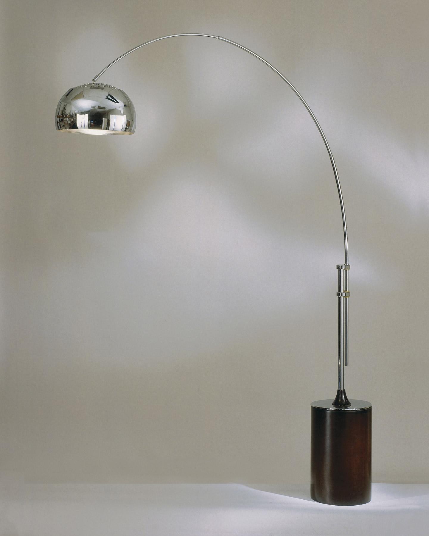 Nova Lighting 4361cx Contour Arc Floor Lamp