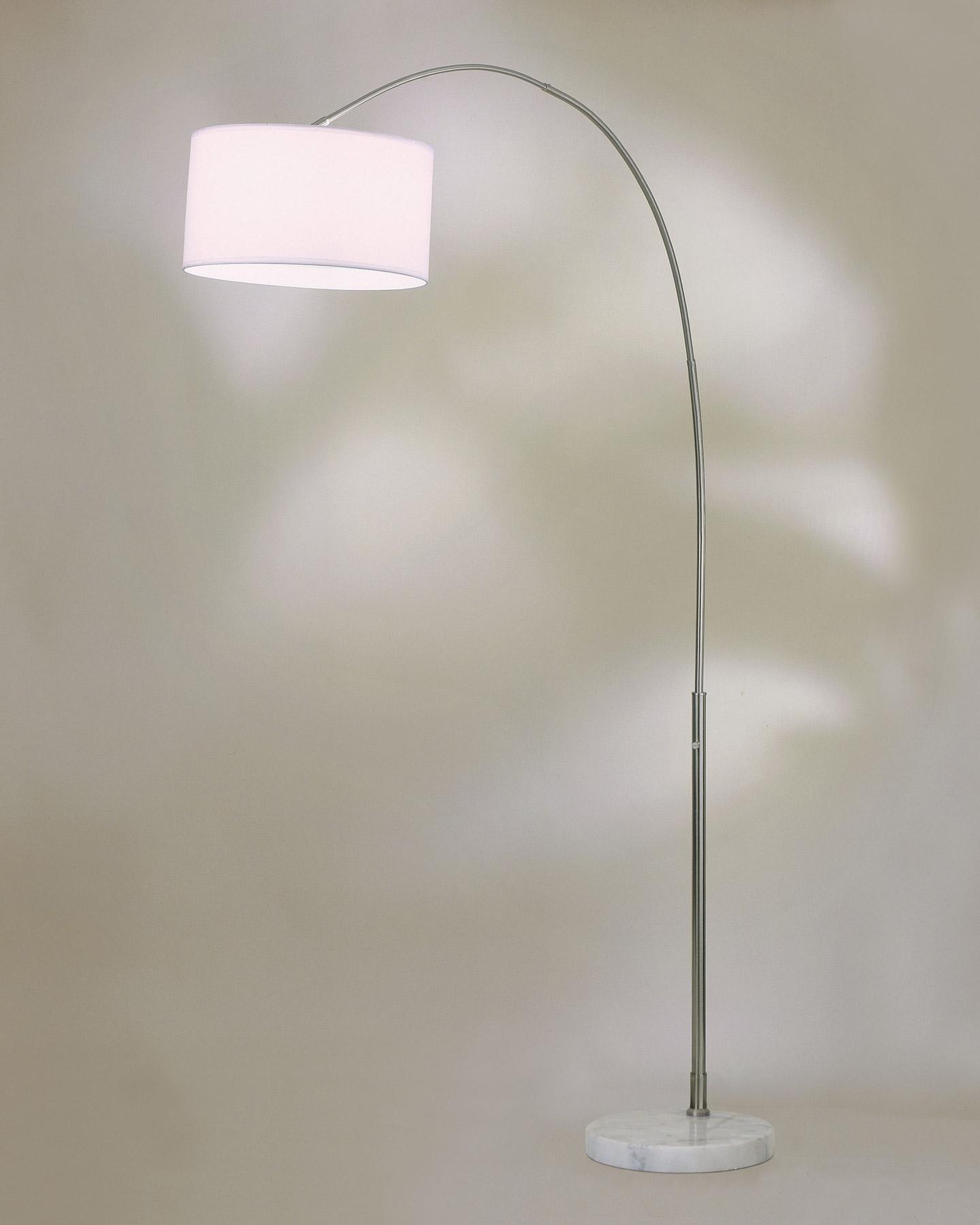 Nova Lighting 4453rg Float Arc Floor Lamp