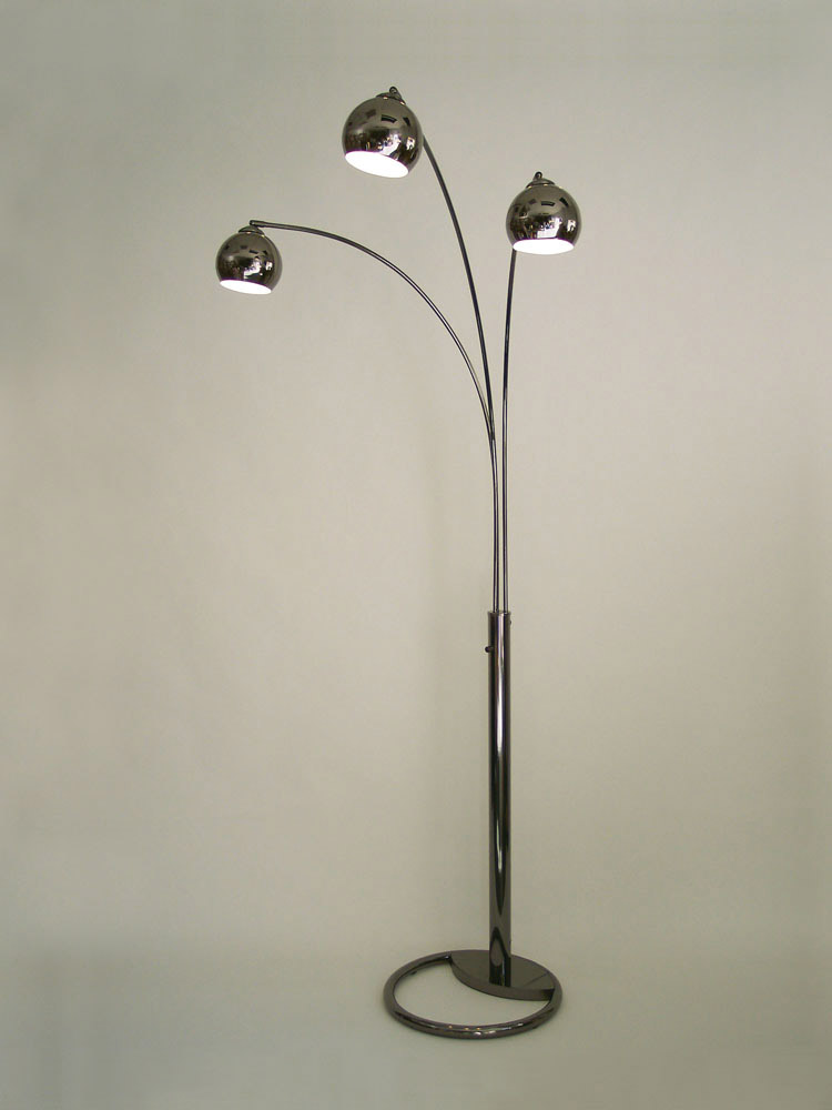 Nova Lighting 8051 Triplet 3 Light Arc Floor Lamp