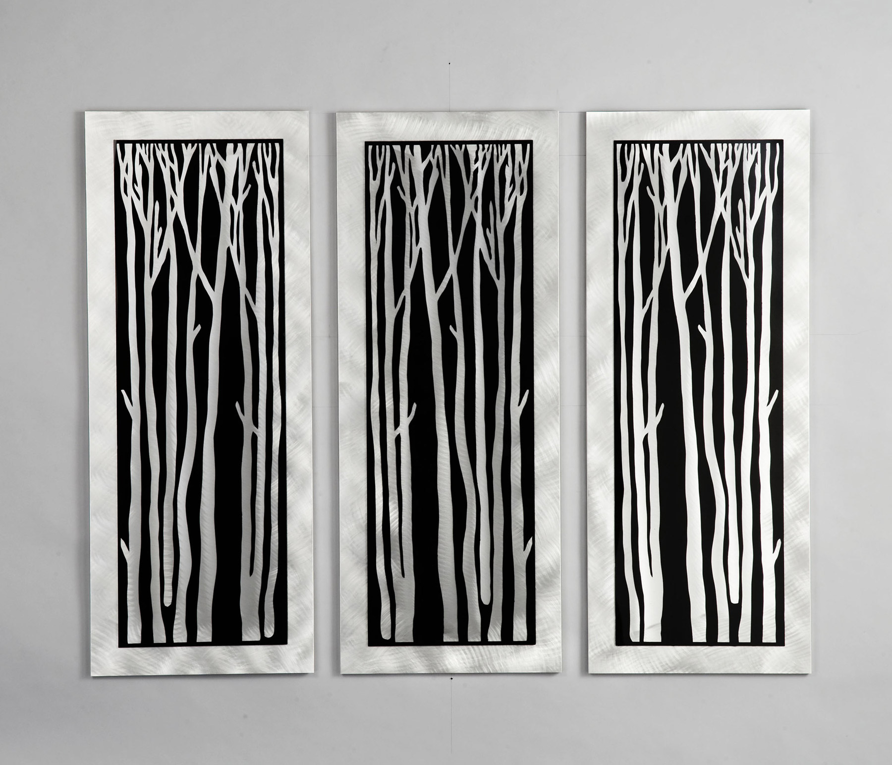 Lighting wg40502 silver birch 3 piece wall graphic nova lighting wg40502 silver birch 3 piece wall graphic aloadofball Images